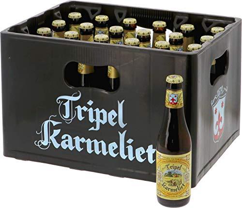 24-er Paket | Bierpaket | Internationales Bier | Craft Beer | Großpaket zum Sparpreis (Tripel Karmeliet)