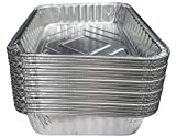 INTVN Bandeja de goteo para barbacoa - Desechables Bandeja de aluminio - Ideal...