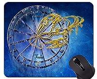 滑り止めラバーゲーミングマウスパッド、ラバーマウスパッドのがん星座占星術占星術テーマ