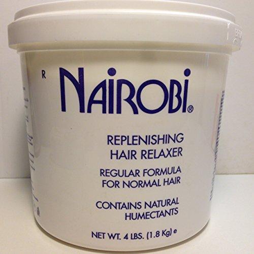 Nairobi Replenishing Hair Relaxer Regular Formula for Normal Hair 64 Fl