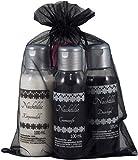 Gothic-Set 'Nachtlilie' mit Cremeseife, Duschgel, Körpermilch und Schaumbad