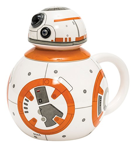 Joy Toy Star Wars - Taza de cerámica, diseño de BB-8