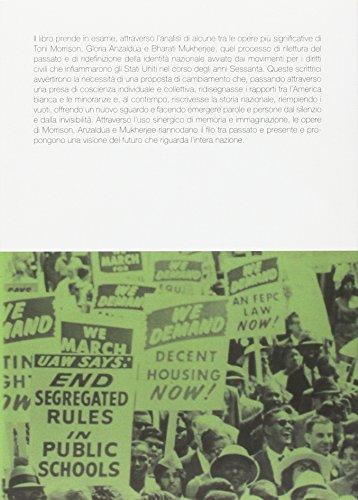 Ciò che si muove ai margini. Identità e riscrittura della storia nazionale in Toni Morrison, Gloria Anzaldúa e Bharati Mukherjee