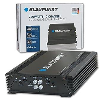 BLAUPUNKT 750W 2-Channel Full-Range Amplifier  AMP7502