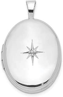 Best sterling silver diamond locket Reviews