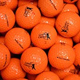12 Links Choice Orange Coloured Golf Balls