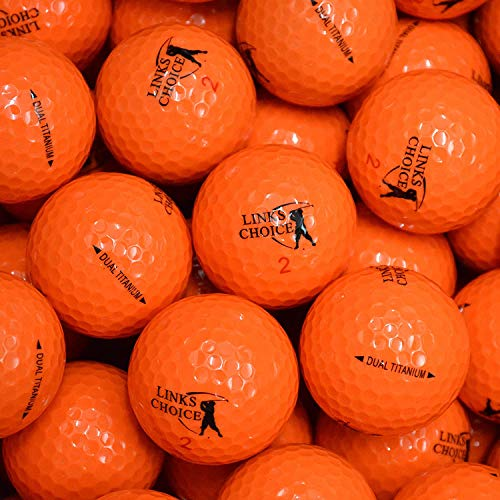 LP-Golf Golfbälle 12er Pack, orange, 5060017779431