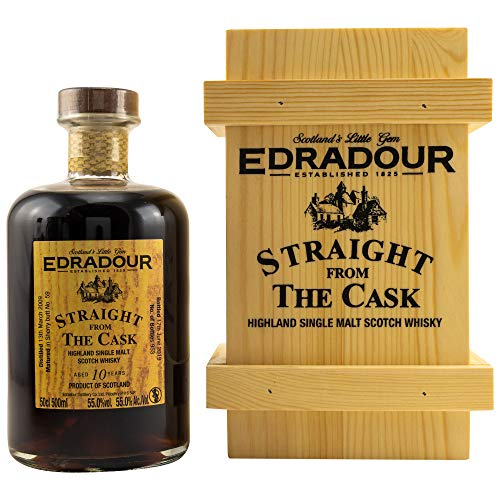 Edradour 2009/19 Straight from the Cask - SHERRY CASK 59 Single Malt Whisky 55% vol 1x0,5L