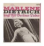 Dietrich, Marlene / singt Alt-Berliner Lieder / 1982 / Bildhülle mit bedruckter ORIGINAL Innenhülle und ORIGINAL DDR Kassenbon / Amiga # 8 45 009 / 845009 /...