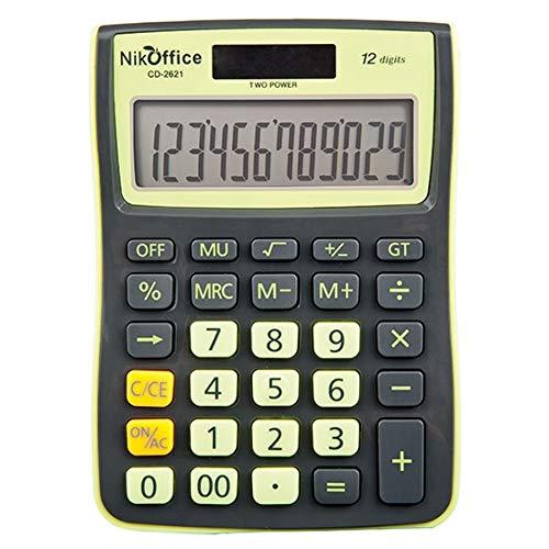 A.N.S. International CD-2621 Taschenrechner, verschiedene Farben