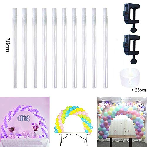Absir Detachable Tabletop Arch Balloons Column Stand Base for Wedding Birthday Party Decor