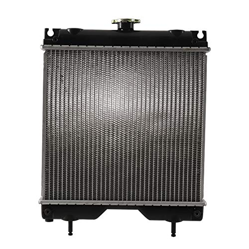 Complete Tractor New 1906-6310 Radiator Replacement For Kubota BX2200D, BX2230D, BX22D, BX23D, K2561-85010, K2561-85210