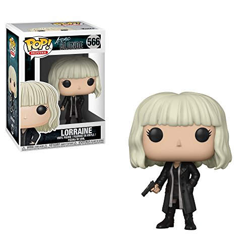 Funko Pop! Movies: Atomic Blonde Lorraine Outfit 2 (Styles May Vary) Collectible Figure, Multicolor