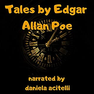 Tales by Edgar Allan Poe audiobook cover art
