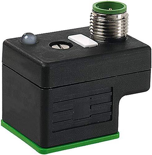 Murr Elektronik 7000-41301-0000000, Valve Plug, M12 Adapter, 24V, 4A 7000-41301-0000000