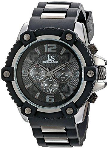 Joshua & Sons Herren-Armbanduhr Analog Quarz JS94BK