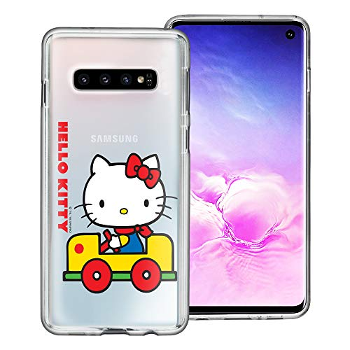 WiLLBee Compatible with Galaxy Note8 Case Sanrio Cute Border Clear TPU Soft Jelly Cover - Hello Kitty Car
