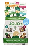 JOJO's Dark Chocolate Bites Made with Hemp, Plant Based Protein, Low Sugar, Low Carb, Vegan, Paleo & Keto Friendly, Healthy Snack, Assorted Pack, 16oz Bag (40 Count)