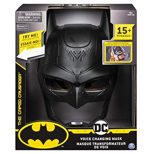 Bizak- DC Comics Máscara Electrónica Batman Cambio de Voz, Color negro, (61927808)
