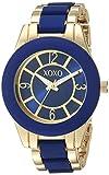 XOXO Women's Analog-Quartz Watch with Alloy Strap, Two Tone, 10 (Model: XO266)