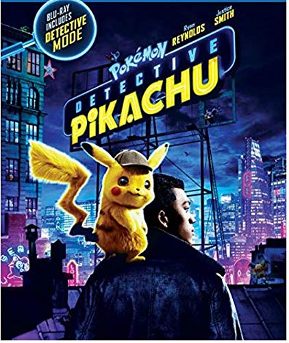 Pokemon Detective Pikachu (Blu-ray + DVD + Digital Combo Pack)