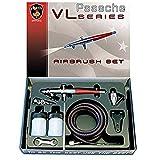 Paasche VL-Set - Juego de aerógrafo de Doble acción con sifón – Aerógrafo Paasche