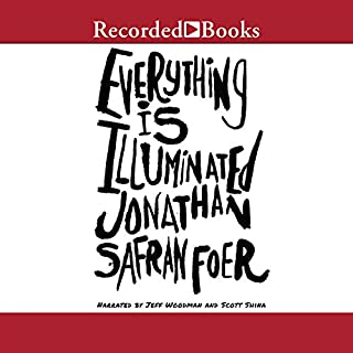Everything Is Illuminated audiobook cover art