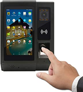 Android Time Attendance Biometric Fingerprint NFC Reader with Camera Access Control Dorr Lock Function for Office HR Management