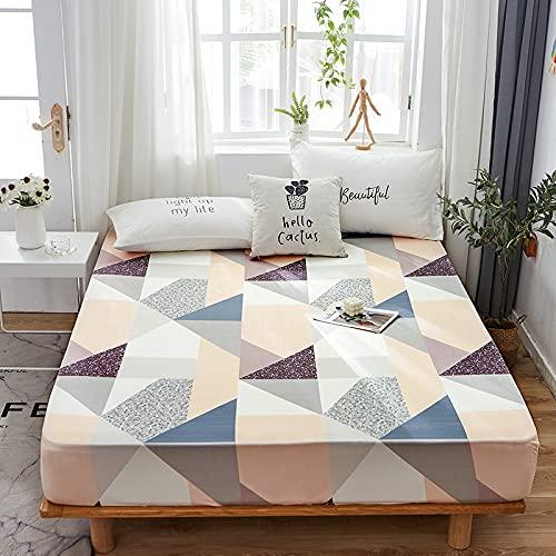Haya - Sábana bajera para colchón (poliéster, poliéster, algodón, 120 x 200 cm + 28 cm)