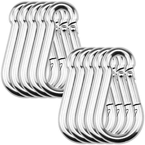 NOTRICKT SSH-002 D5mmxH50mm スナップフックB型 ステンレス鋼, チェーン・ワイヤ・ロープの連結用[10本入]