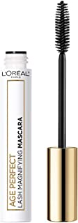 L'Oreal Paris Age Perfect Lash Magnifying Mascara with Conditioning Serum and Jojoba Oil, Suitable for Sensitive Eyes Available in 2 Shades, Black, 0.28 fl. oz.