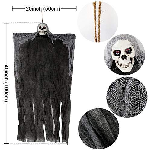 QLQGY Cobweb open haard sjaal Halloween Party Decoratie Lace Black Spider Web Mantel hangen Ghost Home Supplies