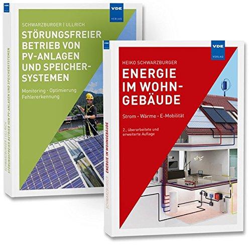 """Strom und Wärme im Gebäude (Set): Set bestehend aus: Fachbücher \""""Energie im Wohngebäude\"""" und \""""Störungsfreier Betrieb von PV-Anlagen und Speichersystemen\"""""""