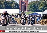 Faszination Oldtimer Motorrad - Momentaufnahmen von Hamburger Stadtparkrennen (Wandkalender 2022 DIN A2 quer): Impressionen begeisternder Motorraeder. (Monatskalender, 14 Seiten )