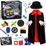 GraceDuck Magic Tricks Kit for Kids - STEM Projects Toys Pretent Play Magician Dress Up Fun Stuff Outdoor Indoor Games for Boys Girls Toddlers Ages 5 6 7 8 9 10 11 12 Years Old