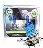 ZENXEAY H7 Birne Lampe, 55W 12V, Super White Ultra...