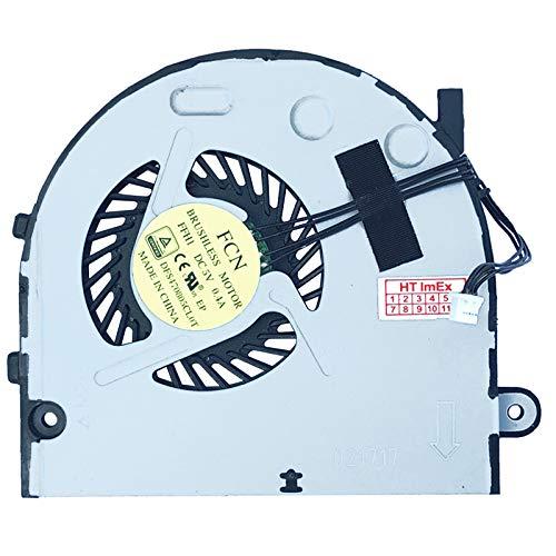 (Version 2) Lüfter Kühler Fan Cooler kompatibel für Lenovo B50-80 (80EW00HSGE), B50-80 (80LT003AGE), B50-80 (80EW00HDGE), B50-80 (80EW01ALGE), B50-80 (80EW00HHGE), B50-80 (80EW03D9GE)