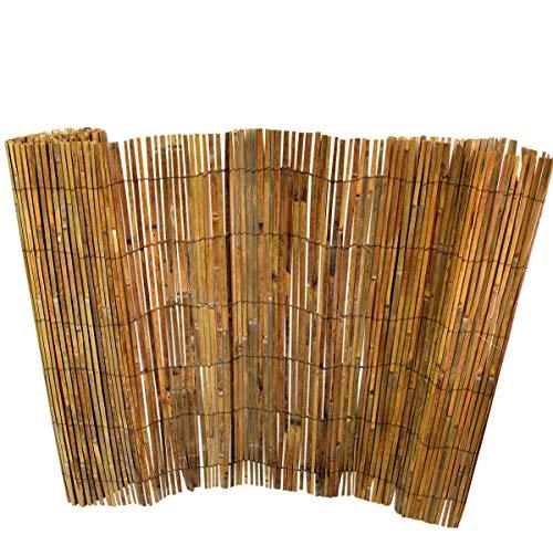 MGP Bamboo Slat Rolled Fence