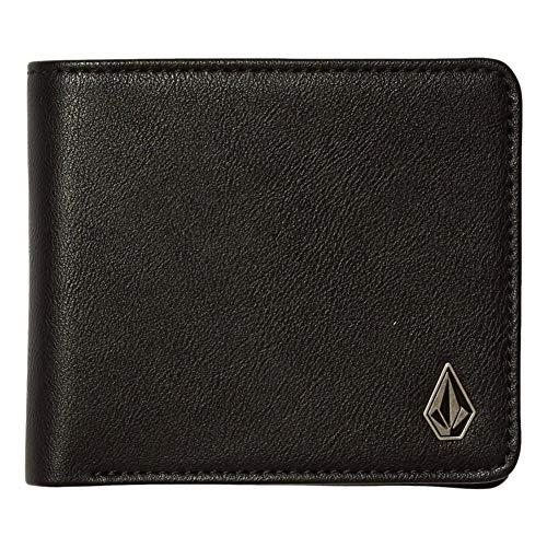 Volcom Slim Stone Large black PU Wallet