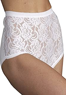 Kleinert's Safe & Dry Fluid-Resistant Lace Cotton Panty for Light Incontinence
