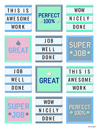 Calm & Cool Classroom Cool Reward Stickers, CTP - Creative Teaching Press 8650
