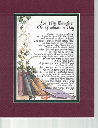 for My Daughter on Graduation Day - A Graduation Gift Poem Present for Daughter