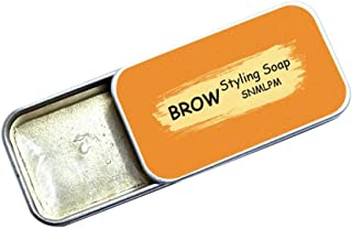 Eyebrows Styling Soap Kit, Natural Eyebrow Shaping Gel Wax, Brows Makeup Balm Styling Brows Soap, Lasting Eyebrow Setting Waterproof Eyebrow Tint Cosmetics for Natural Brows