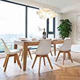 Azadx Office/Home Desk Chair Mat PVC Dull Polish Chairmat Protection Floor Mat 36' X 48' for Hard Floors,Multi-Purpose Hard Floor Protector,Transparent (36' X 48' with Lip)