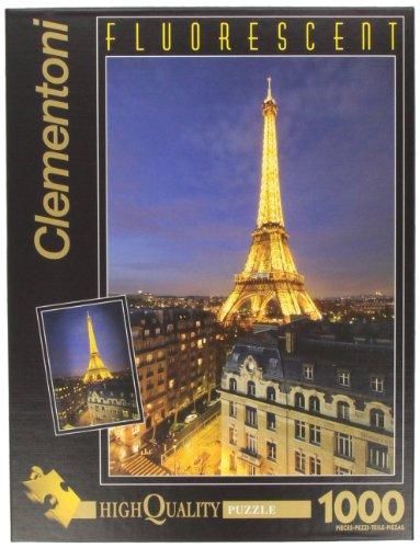 Puzzle de 1000 Piezas, Fluorescent Collection, diseño París (392100)