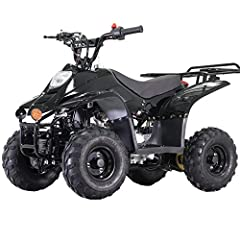 110cc Kids ATV brought by Moto Pro. Automatic Transmission ensures smooth shifting and lets the entry-level rider focus on the trail by eliminating a hand-operated clutch. Electric Start provides much easier control and handling, and gives the rider ...