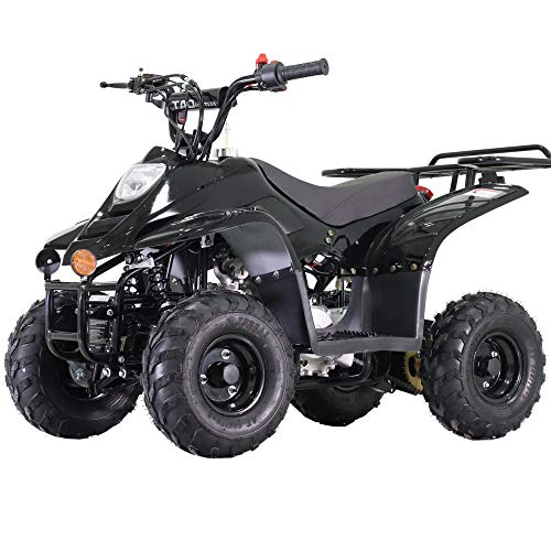 X-PRO 110cc ATV Quads Youth ATV Quad ATVs 4 Wheeler (Black)