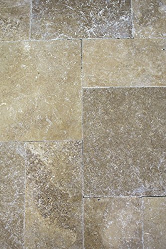 Tegel Travertin natuursteen walnoottegel Romeinse verband noce antiek voor vloer muur badkamer toilet douche keuken tegelspiegel tegelverkleeding badkuip mozaïekmat mozaïekplaat