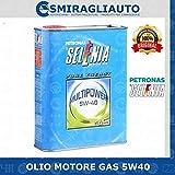 SELENIA Olio Motore Multipower 5W-40 Gas Pure Energy, conf. da 1 Litro