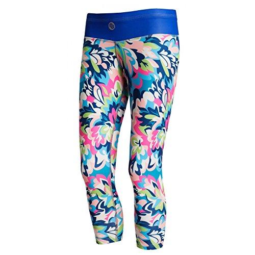 Nessi Collant de Course 3/4 Legging ostk Fitness Pantalon Respirant blueg Arden XXS/XS 22 Bluegarden